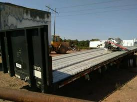 Salvage GDAN FLAT BED